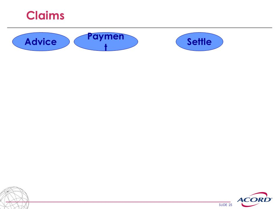 Claims Advice Payment Settle