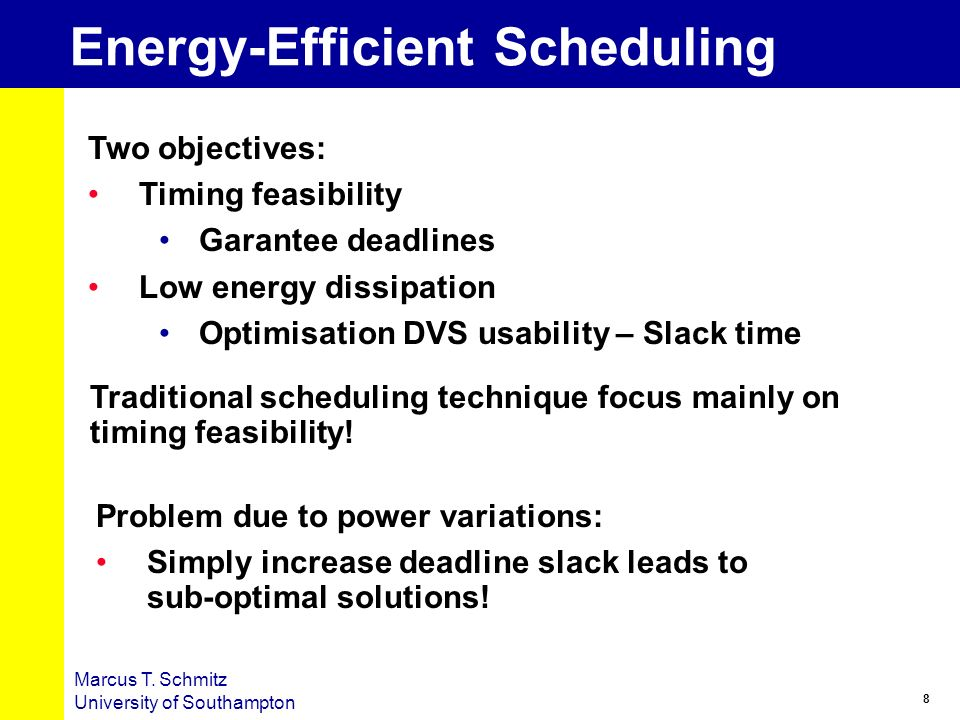 Energy-Efficient Scheduling