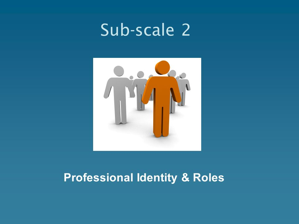 Professional Identity & Roles
