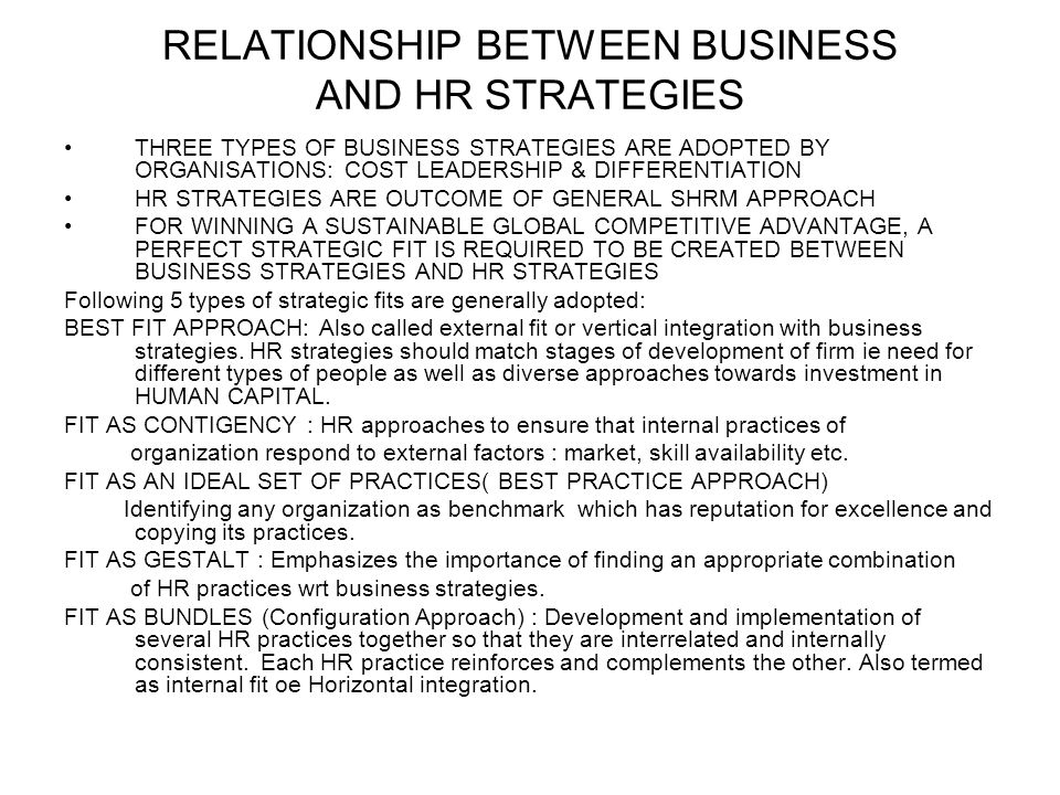 relationship between business vision and strategy