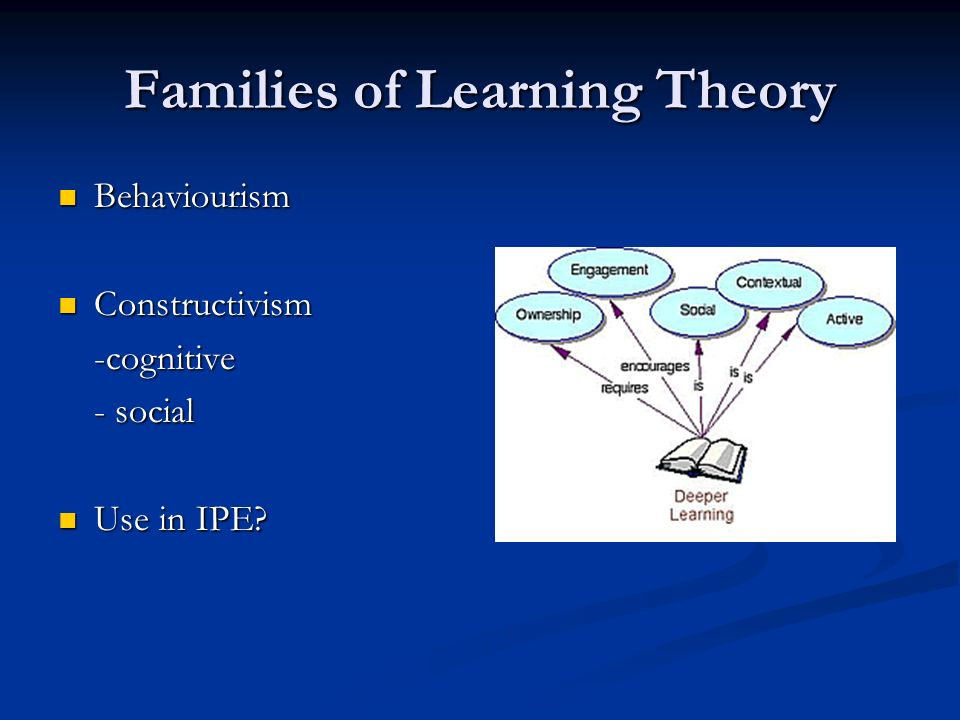 Families of Learning Theory