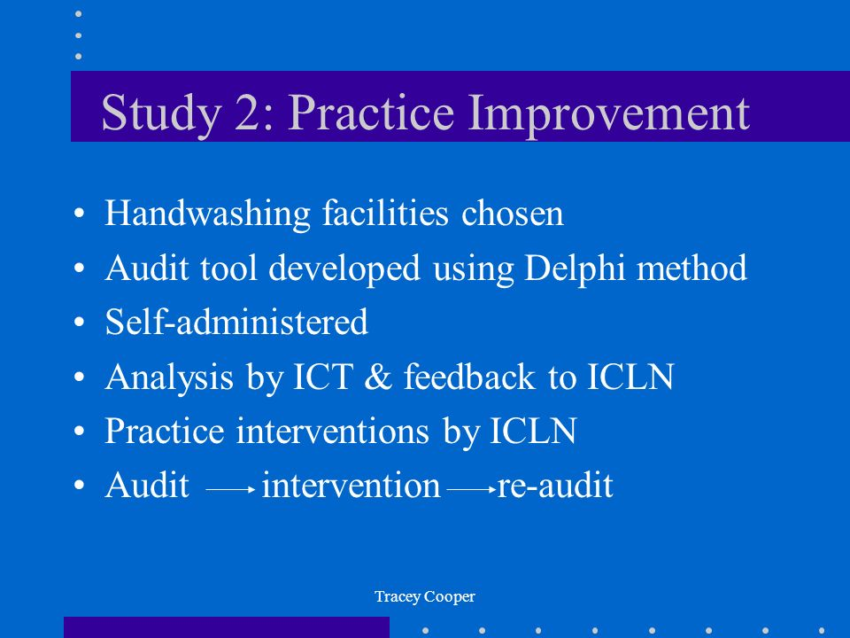Study 2: Practice Improvement