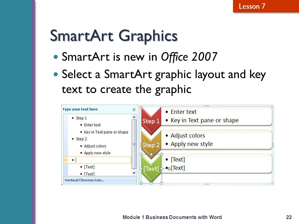 how to create custom smartart in word