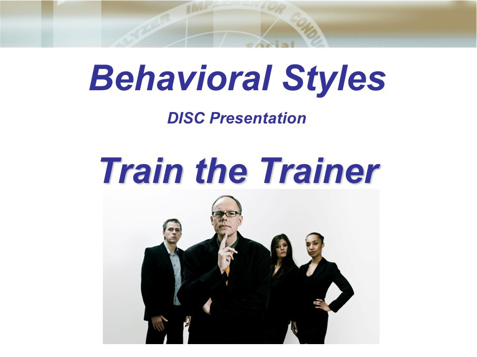 behavioral styles Posts about behavioral styles written by jimabbondante we have prepared some very interesting articles for you this month, great articles on the importance of leadership and how to develop it also understanding and working with various types of employees, developing positive productive habits, how not to demotivate employees, our monthly.