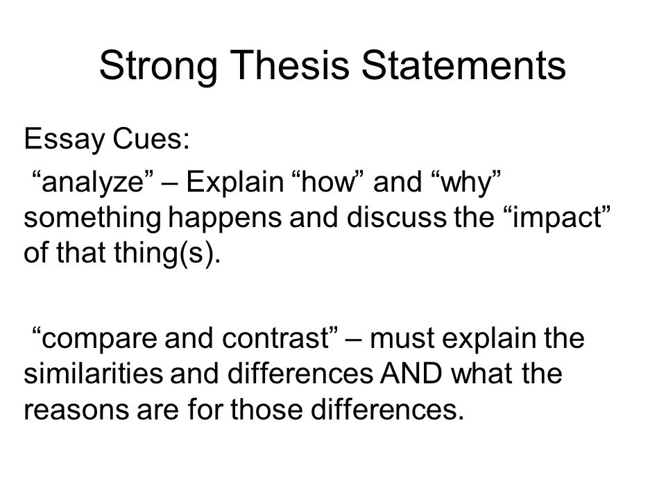 good compare and contrast essay thesis 2017-11-19  good thesis for compare and contrast essay how to create a thesis for a compare & contrast essay any compare and contrast essay.