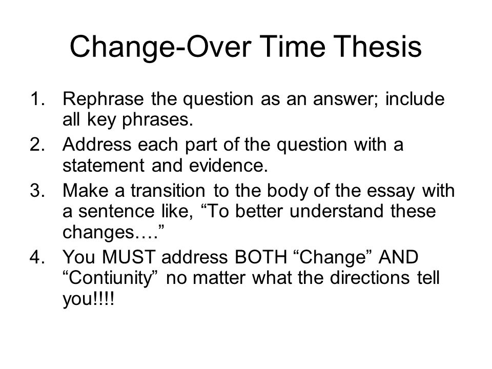 transition statement essay Thesis statement: at least once during the course of writing your essay, isolate   short paragraphs are usually used as transitional paragraphs, not as content.