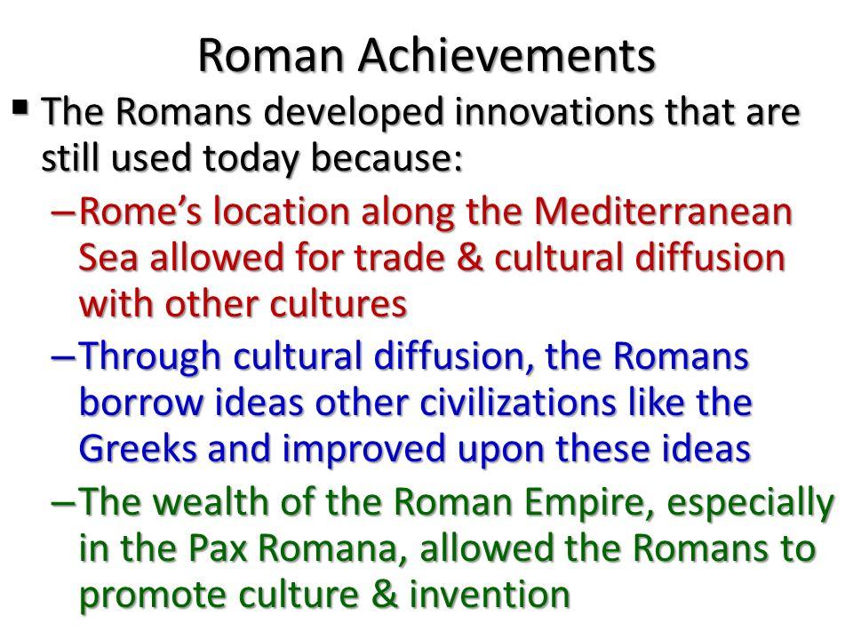 1 Roman Achievements