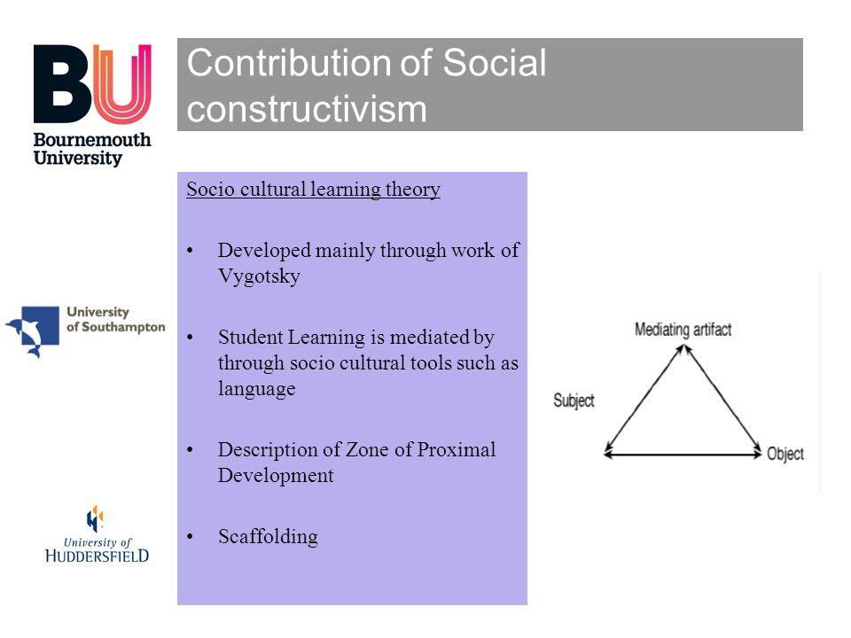 Contribution of Social constructivism