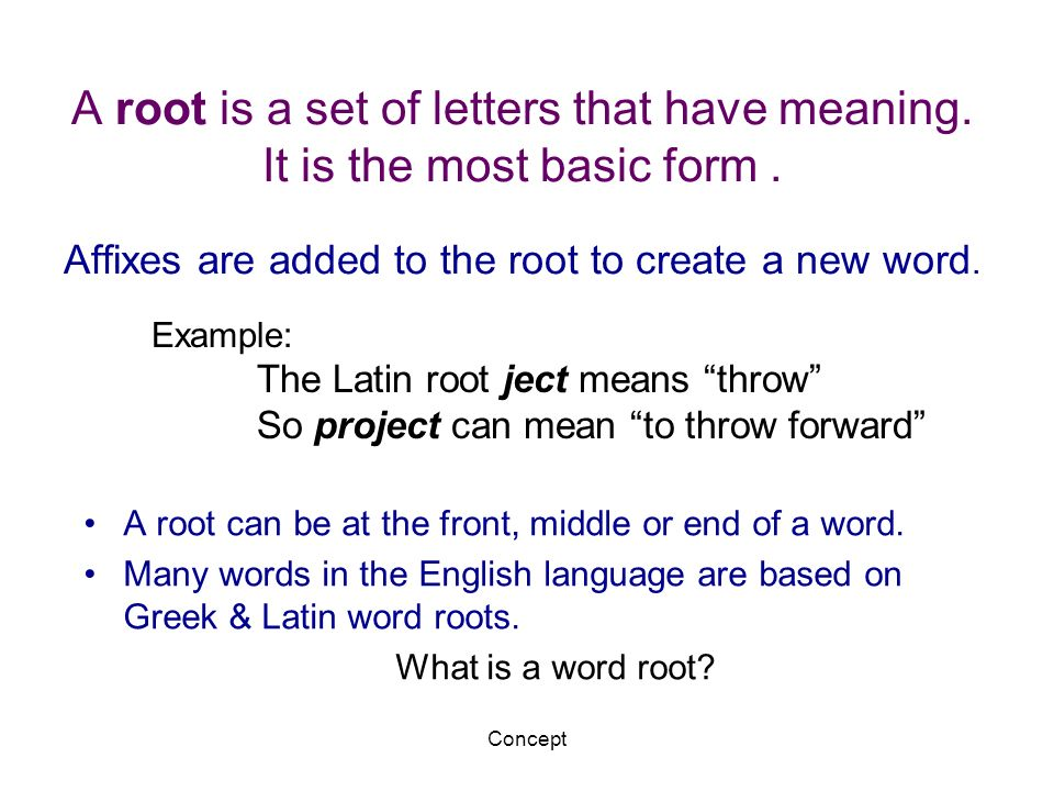 Greek Amp Latin Root Words Word Analysis Amp Vocabulary Ppt
