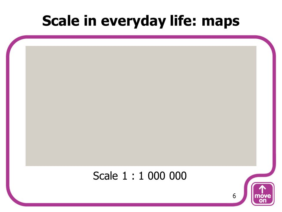 Scale in everyday life: maps