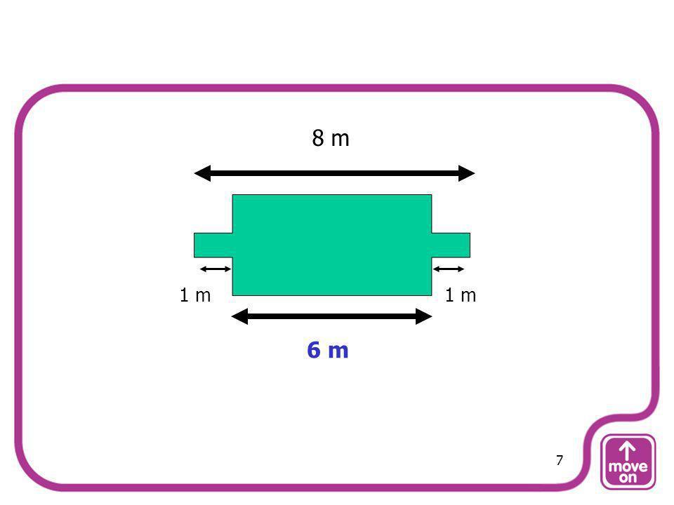 8 m 1 m 1 m 6 m 7