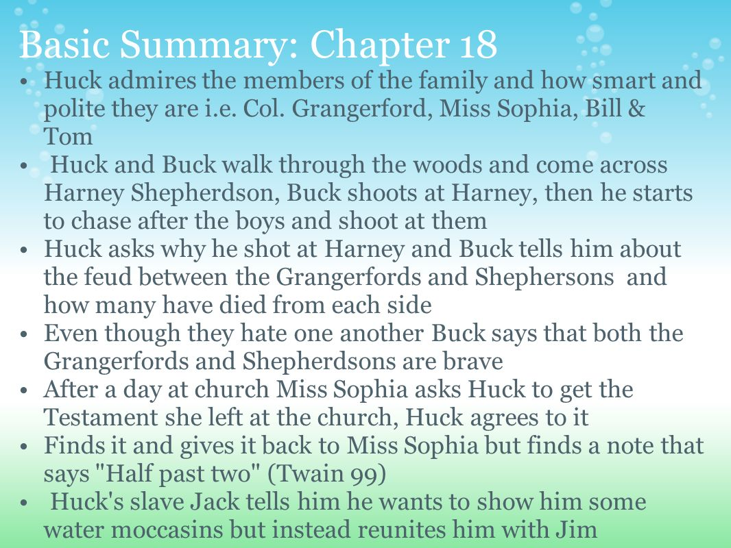 chapter 18 summary To kill a mockingbird chapter 18 summary by harper lee the main points that happen in this chapter include: - mayella gets questioned on the witness stand ab.
