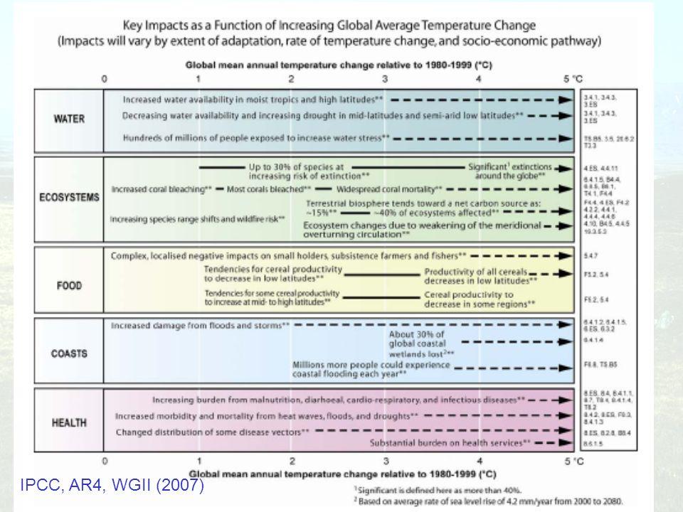 IPCC, AR4, WGII (2007)
