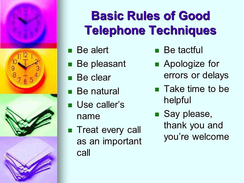 effective telephone techniques in business Telephone collections are a critical part of the debt collection process but often there is little or no guidance given to the employees responsible for the task making the call an effective and successful one is a huge challenge and if you don't prepare for the call or approach it with the right attitude, techniques, communication skills .