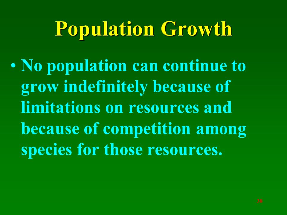 limitations of population growth Nor are population growth rates the challenge solely of those nations with high   and population, but there are limits beyond which intensification cannot go.