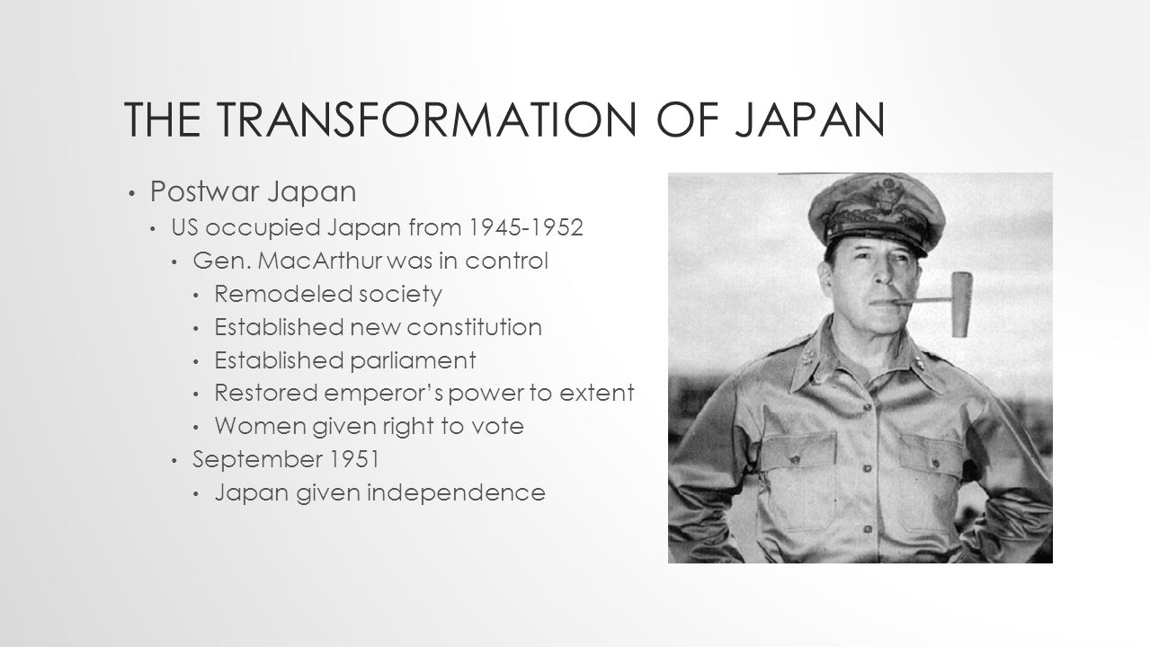 The transformation of japanese and korean