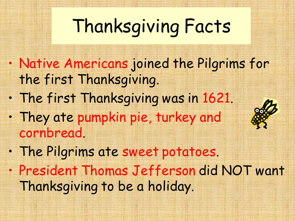 The first thanksgiving ppt video online download for What did they eat at the first thanksgiving
