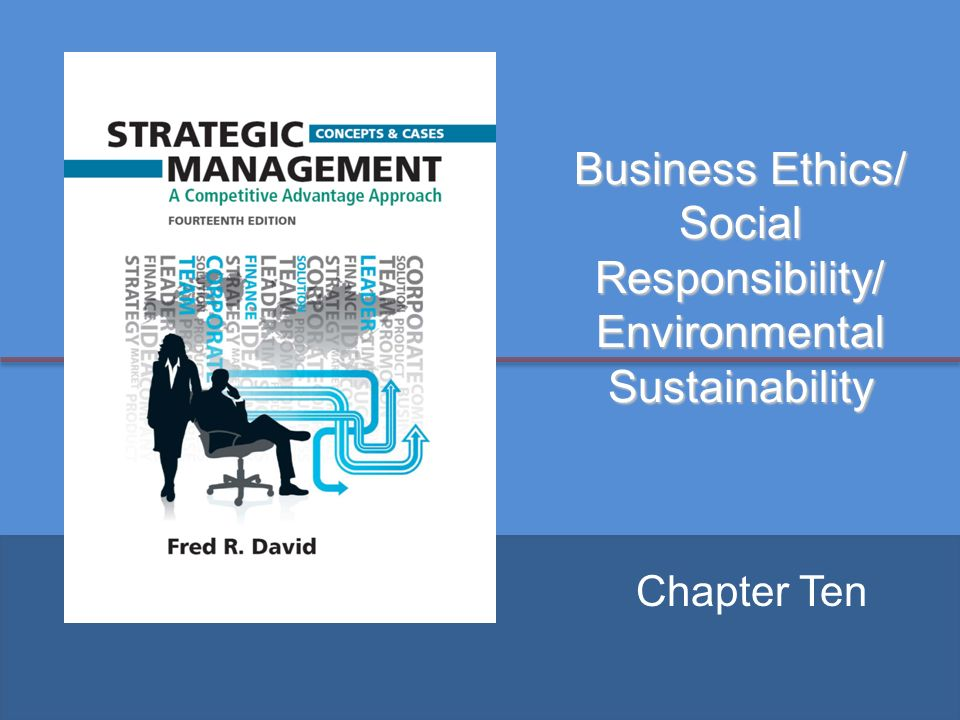 How are Ethical Considerations Incorporated Into Planning & Policy Making in an Organization?