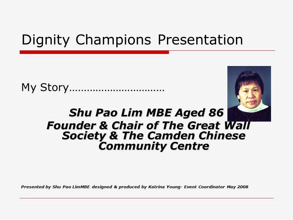 Dignity Champions Presentation
