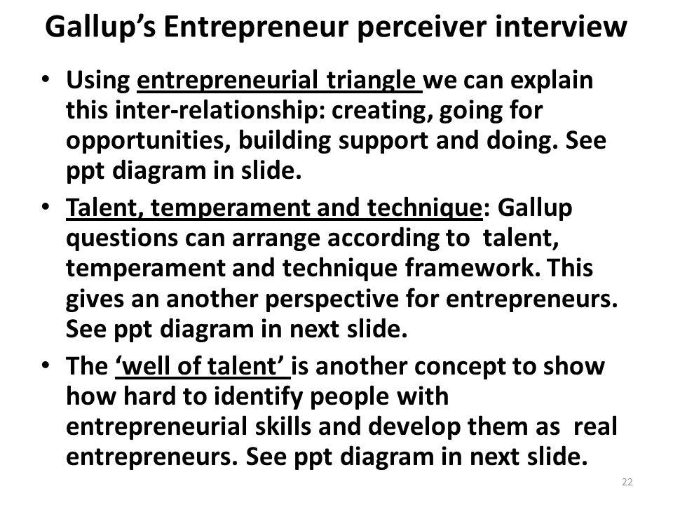 entrepreneur interview questions
