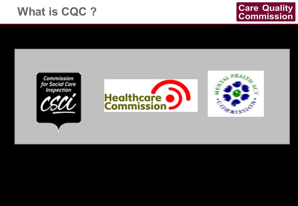 What is CQC You are CQC.