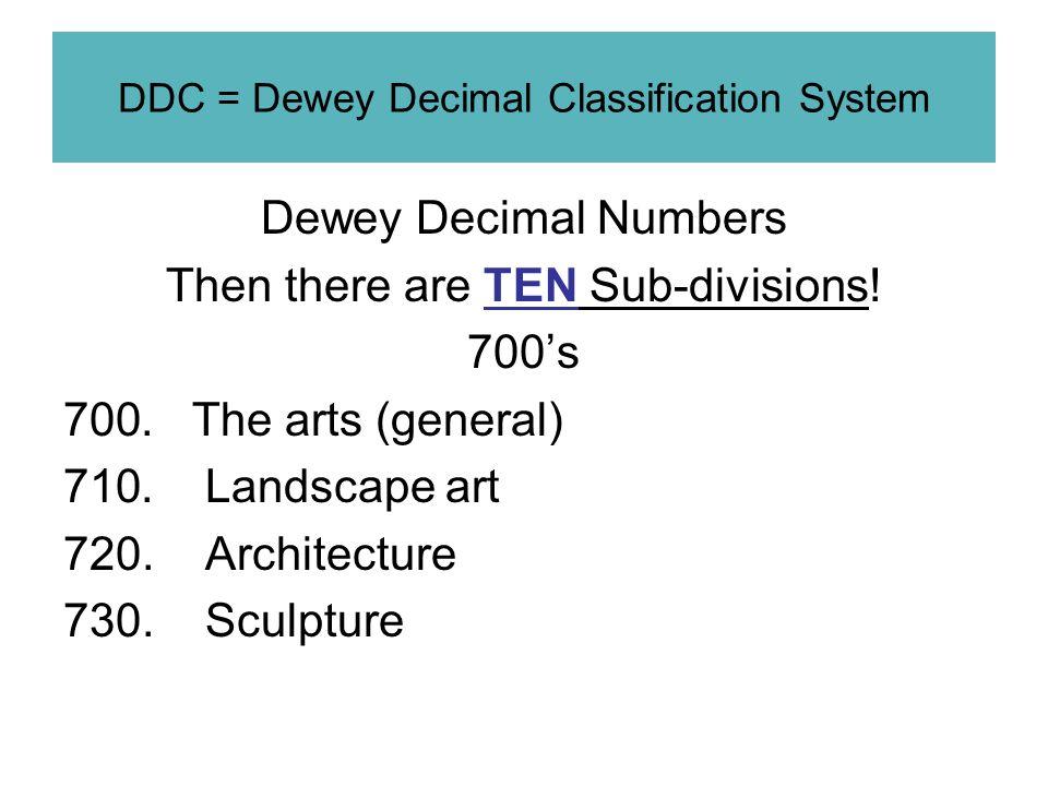 the dewey decimal classification