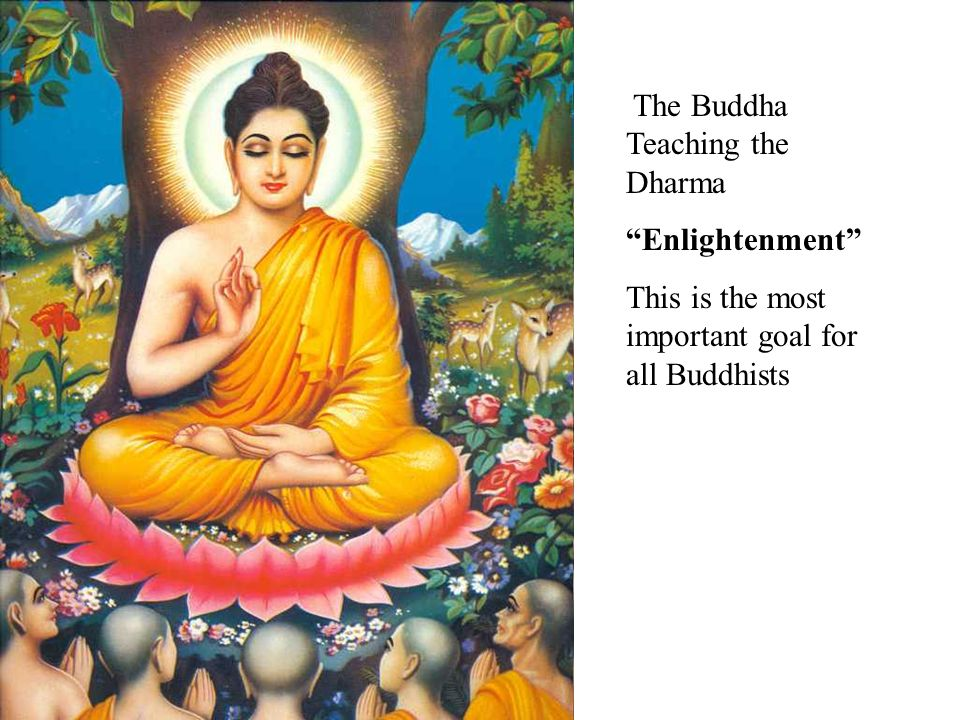 The Buddha Teaching the Dharma