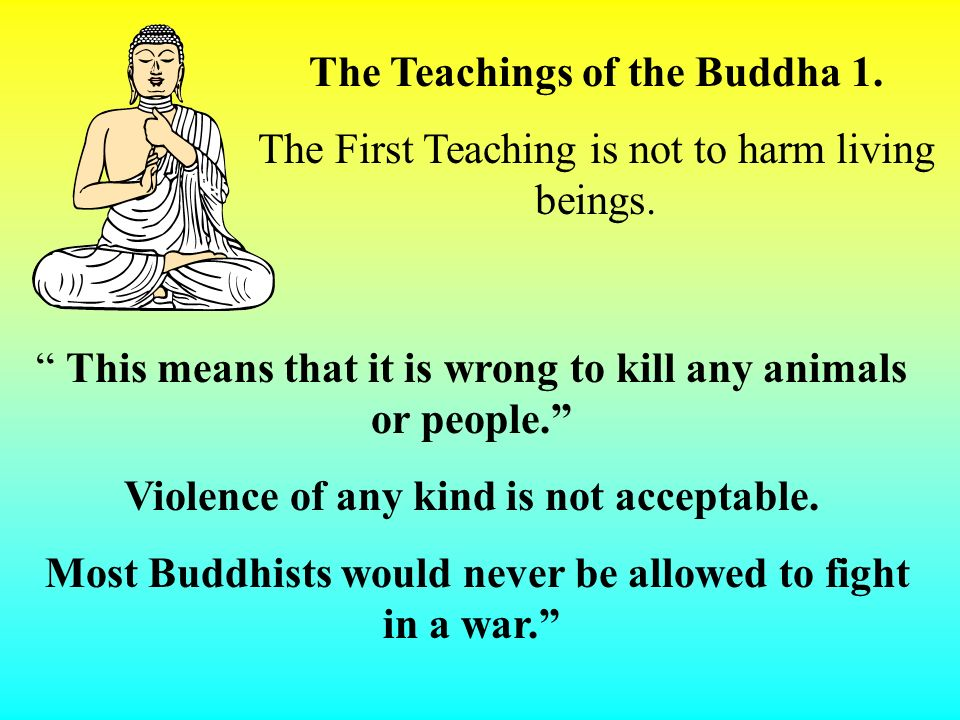 The Teachings of the Buddha 1.