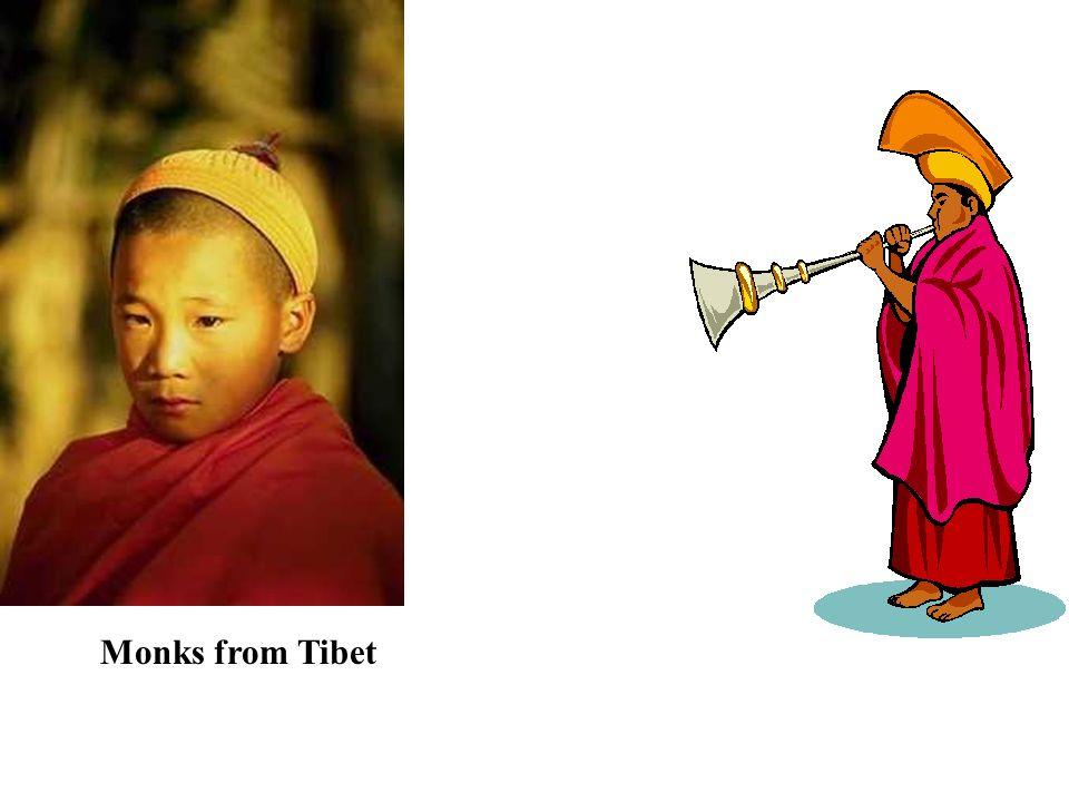 Monks from Tibet