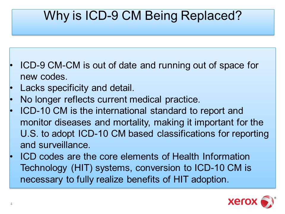 adoption of icd 10