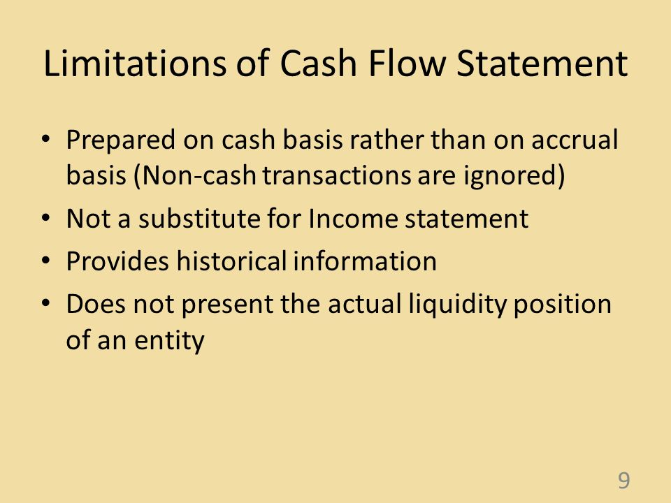 Statement Of Cash Flows Lkas   Ppt Download