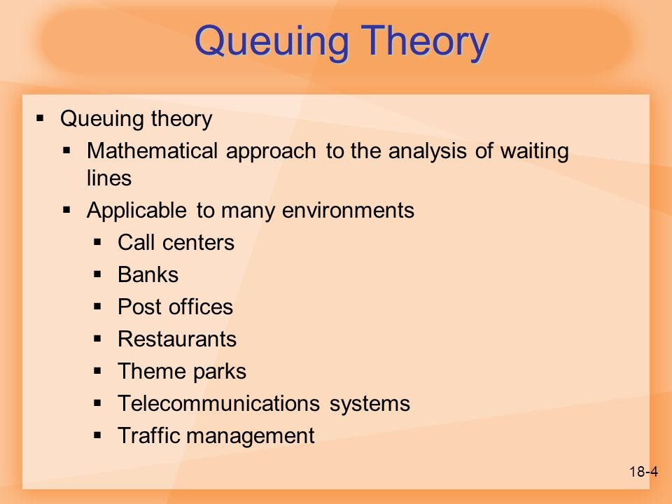 18 Management Of Waiting Lines Ppt Video Online Download