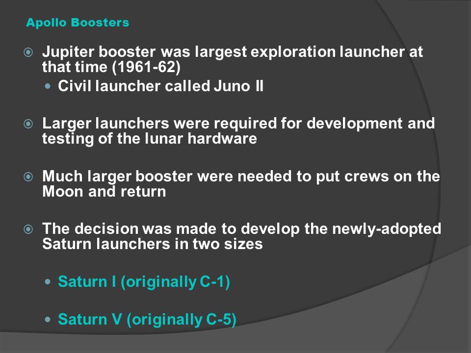 Civil launcher called Juno II