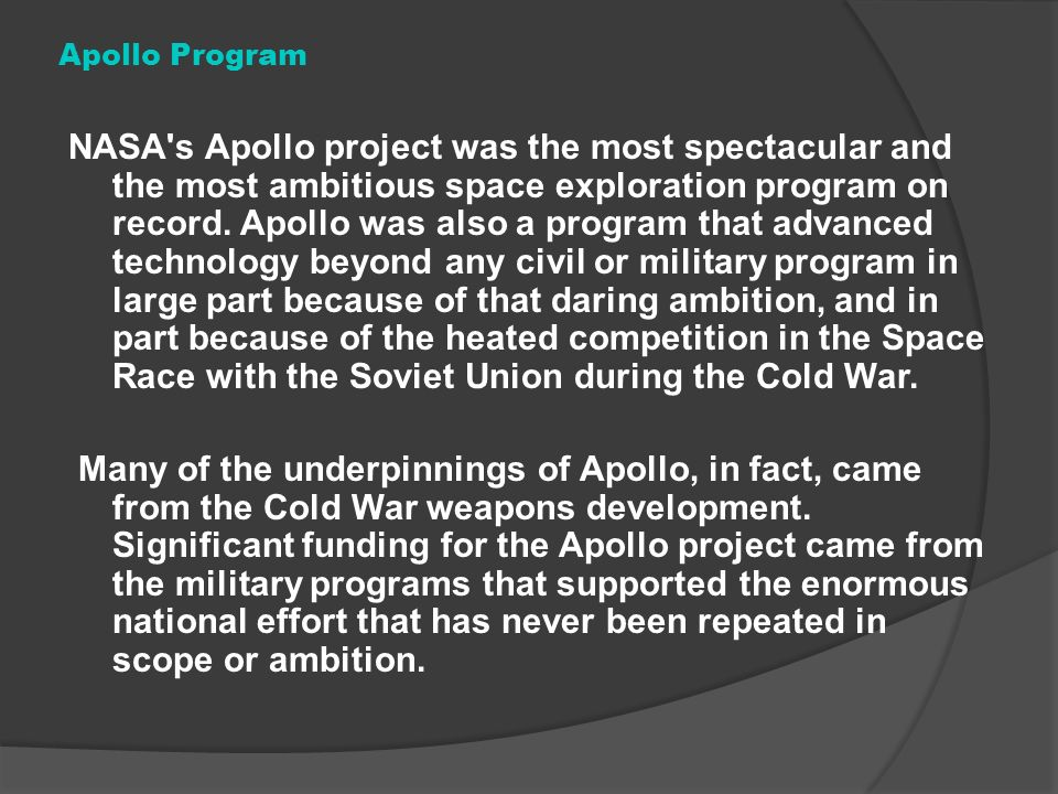 apollo space management software - photo #37