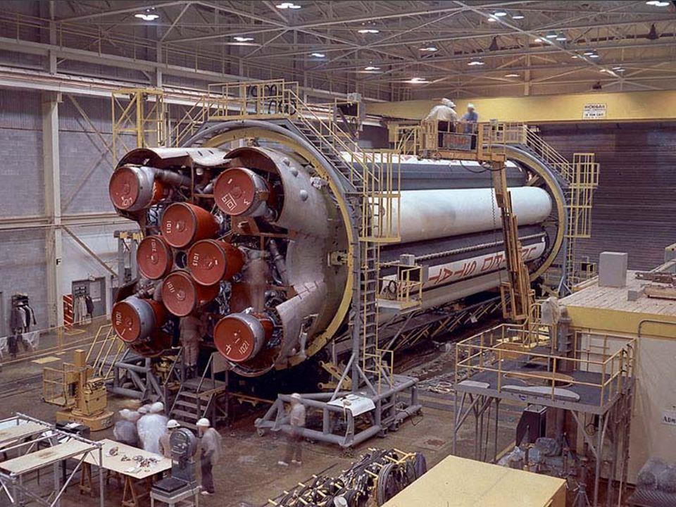 Saturn 1 construction at NASA's Michoud, LA plant