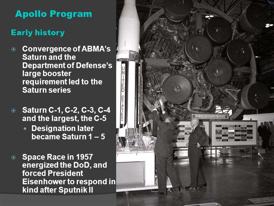 Apollo Program Early history