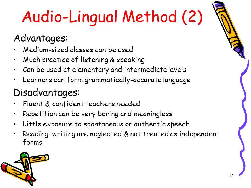 audio lingual method definition