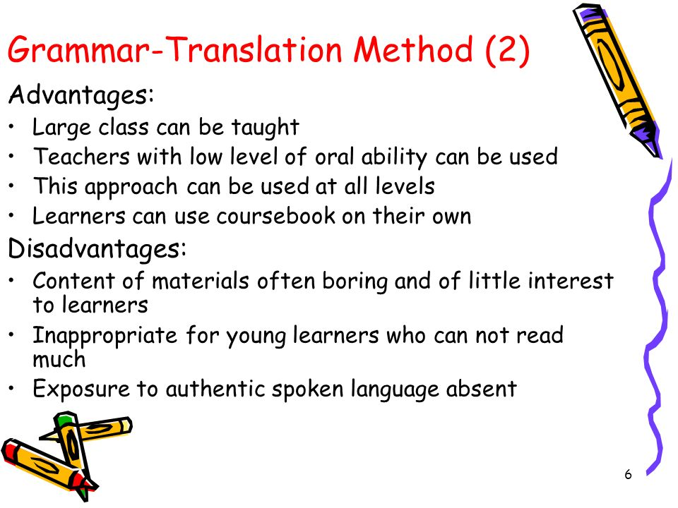 the grammar translation method essay Accessed 10 january 2010 the grammar translation method overview latin and ancient greek are known as dead languages, based on the fact that people no longer speak.