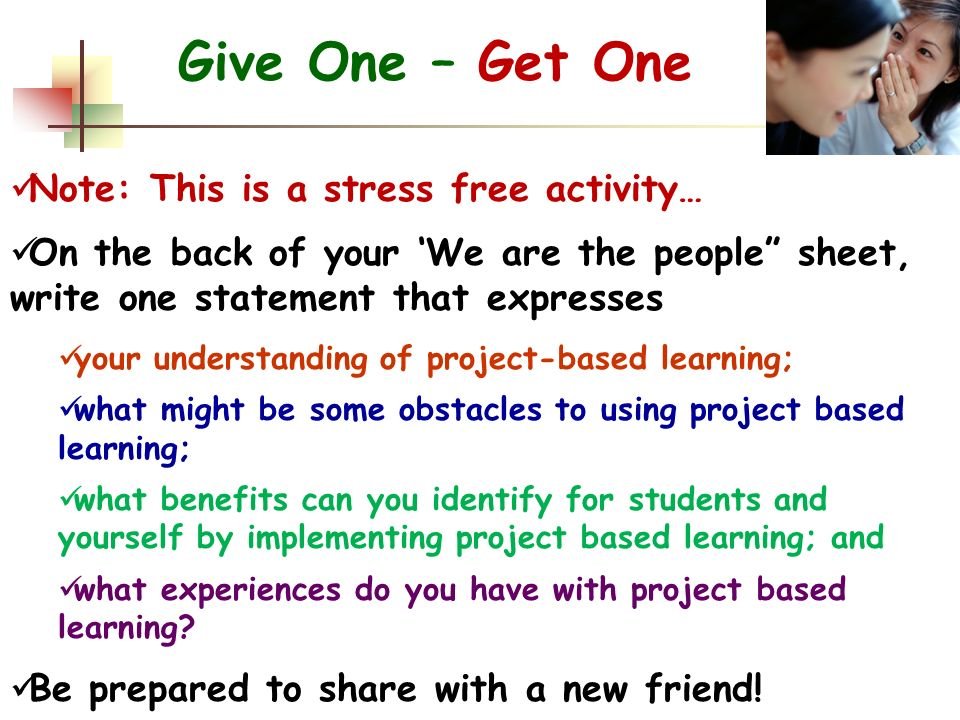 Collaborative Teaching Benefits To Students ~ Project based learning… ppt download