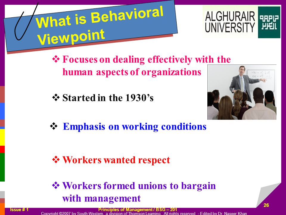 What is Behavioral Viewpoint