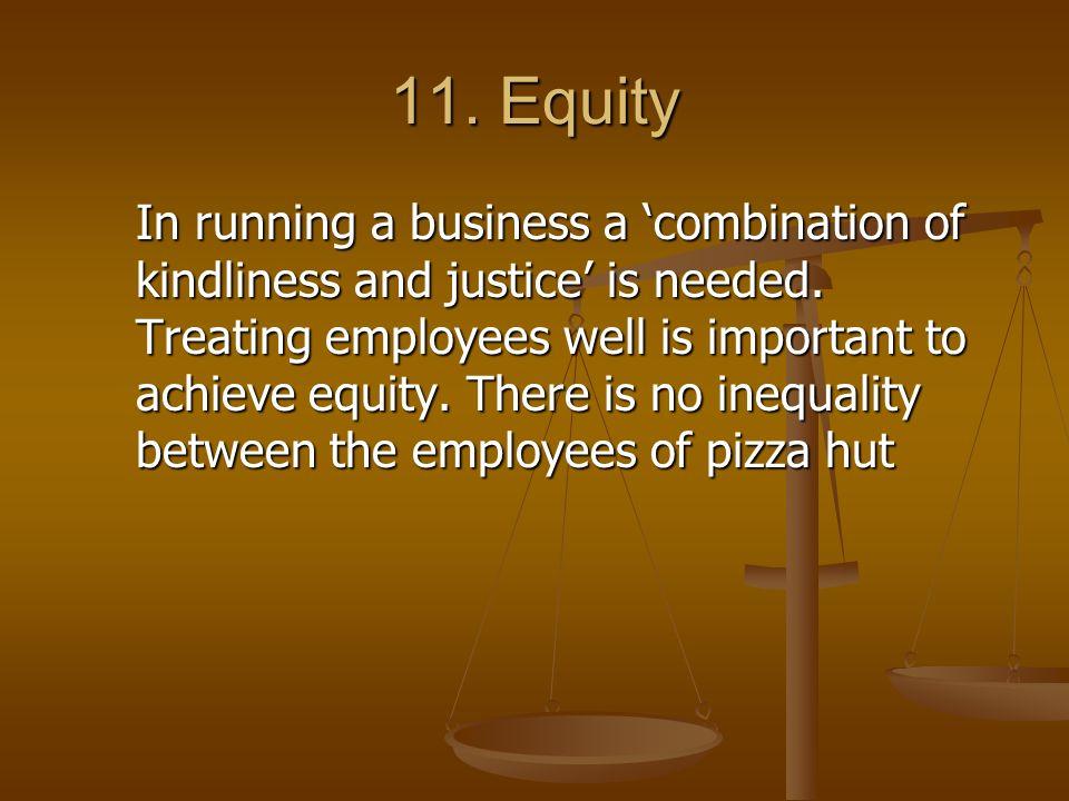 11. Equity