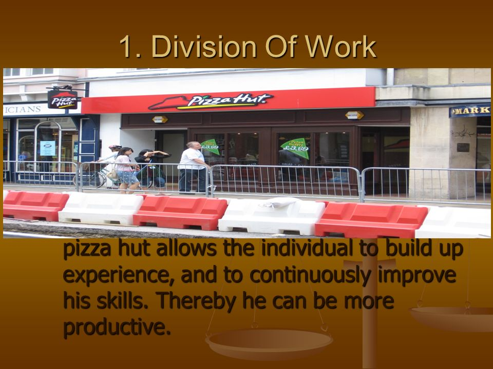 1. Division Of Work