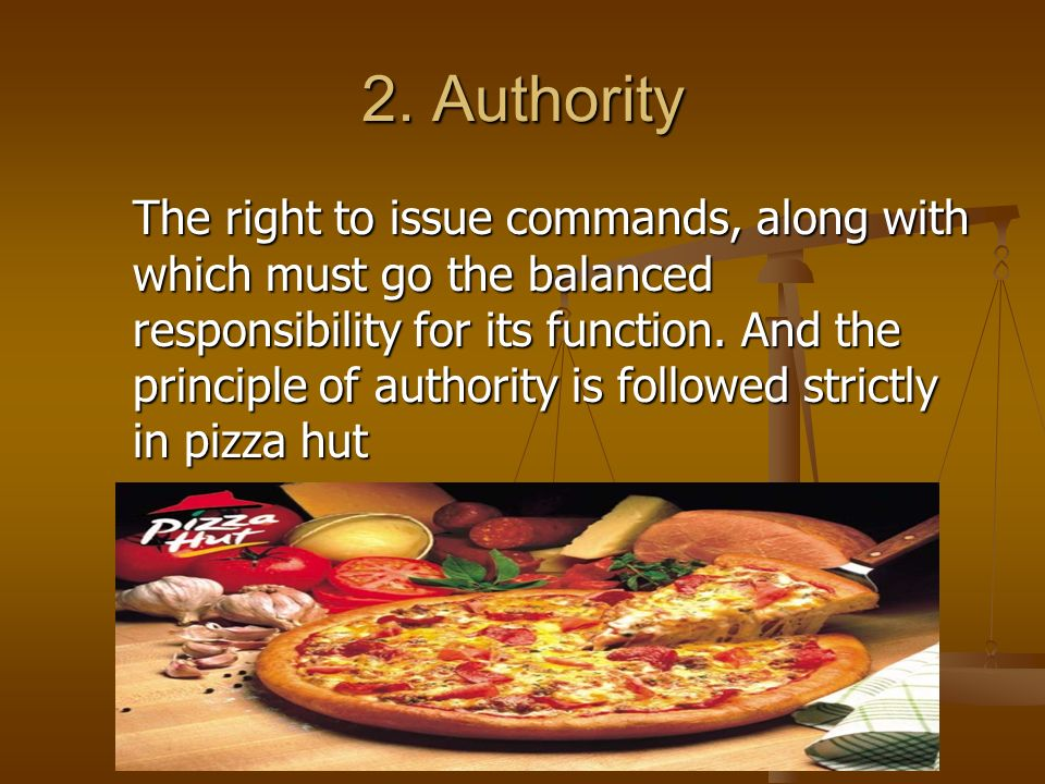 principles of management followed in mcdonalds Fayol's principles of management in mcdonalds essay rather than people-orientedthis is very likefayol laid down the following principles of organization.
