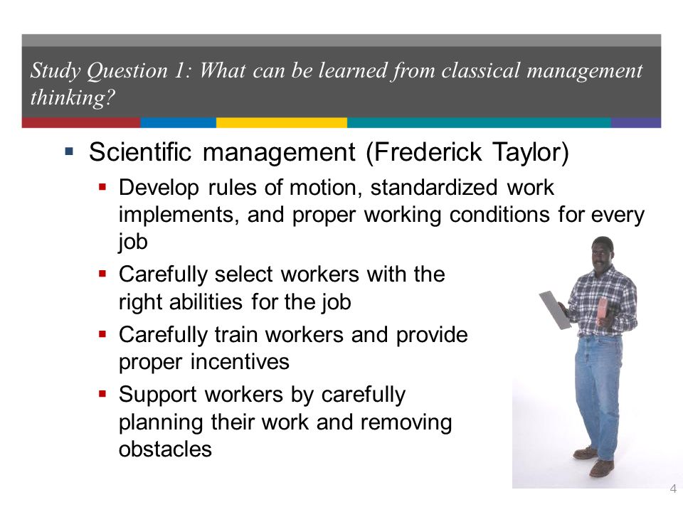 what can be learned from classical management thinking? essay The current practices of health and safety risk management had been learned by  evolution of management theory essay  essay theories on management classical.