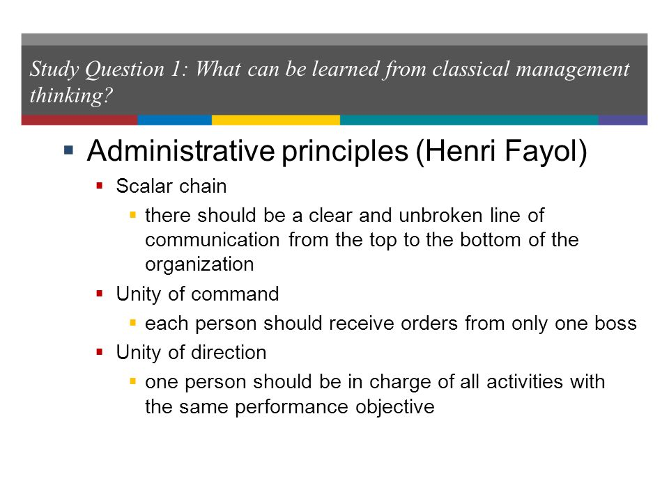 disadvantages of henri fayol principles What does this one of the henri fayol's 14 principles of management subordination of individual what are the disadvantages of the 14 principles of management by.