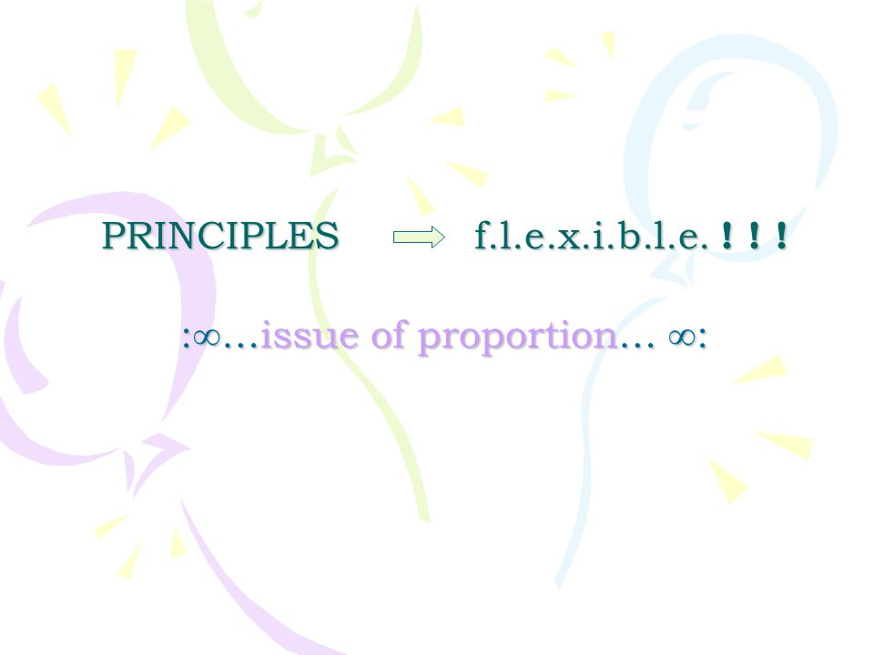 :∞…issue of proportion… ∞: