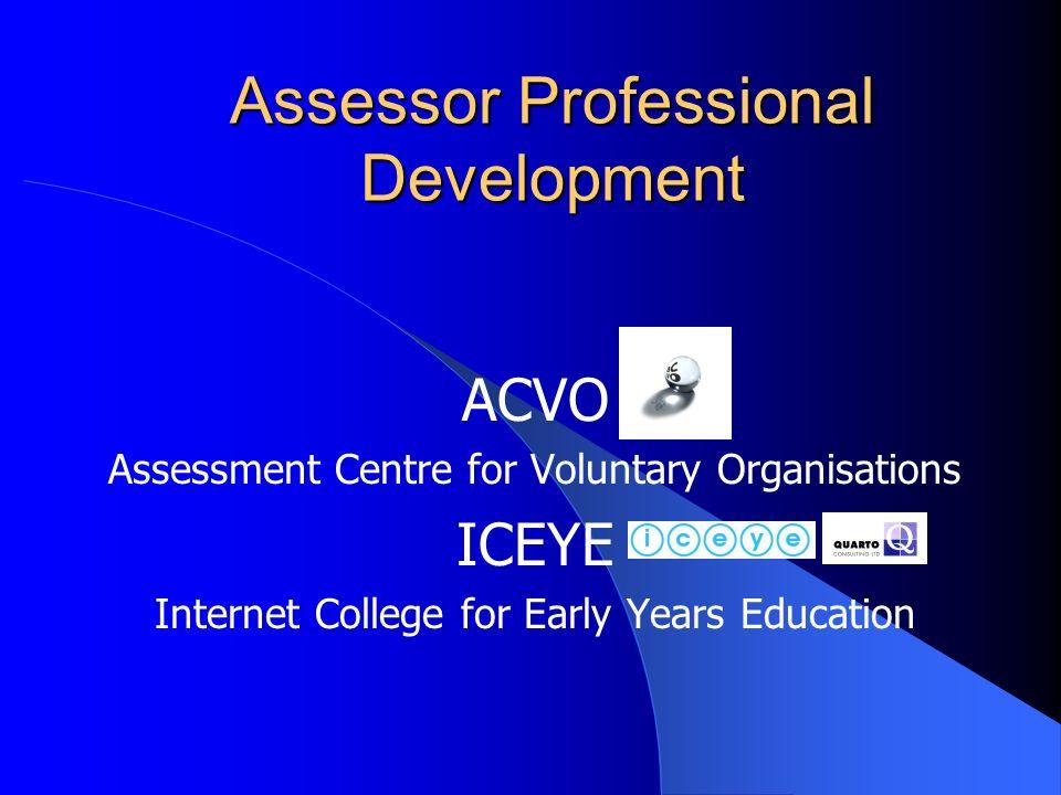 Assessor Professional Development