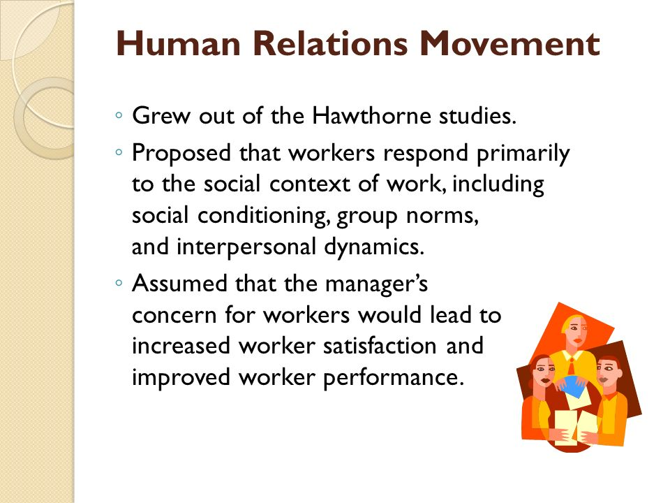 Human Relations Movement