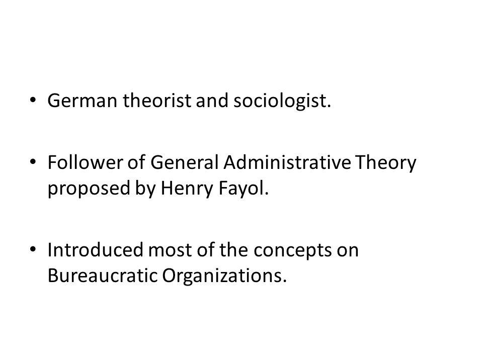 German theorist and sociologist.