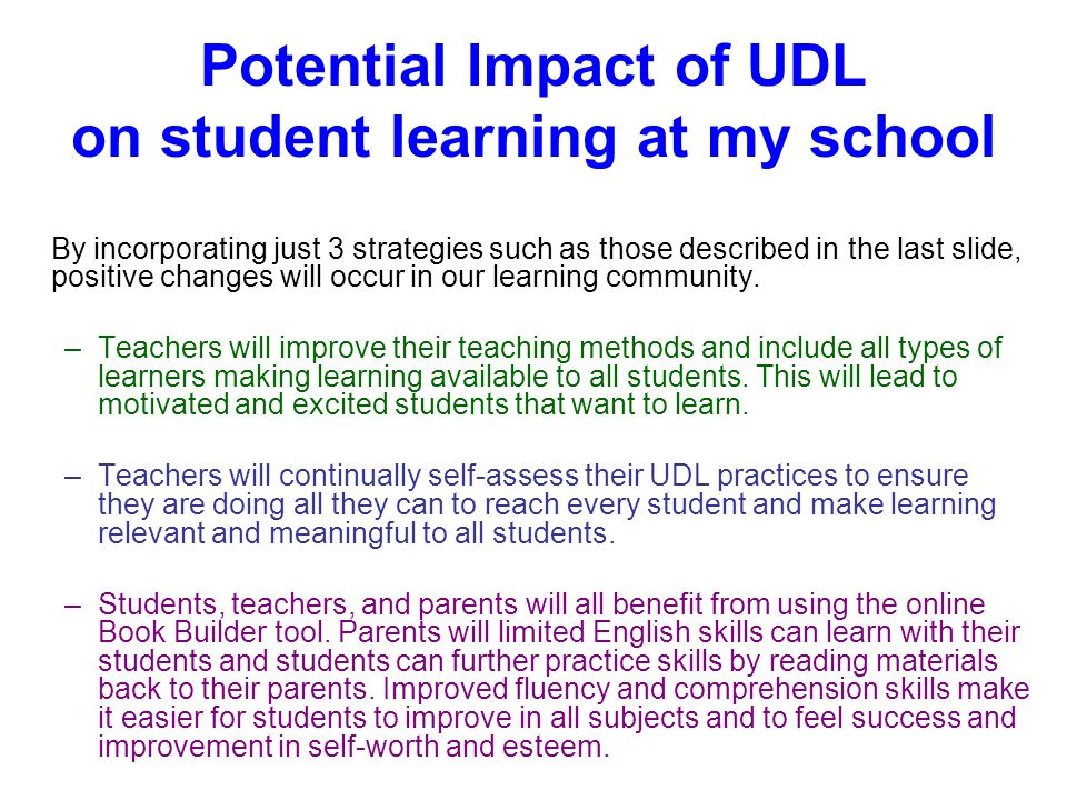 who would benefit from universal design for learning pdf